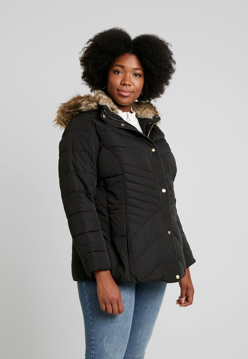 New Look Curves - MAISIE FITTED PUFFER - Veste d'hiver - black
