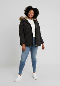 New Look Curves - MAISIE FITTED PUFFER - Veste d'hiver - black - 1