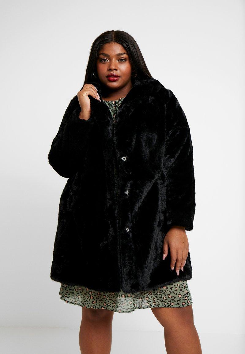 New Look Curves - COAT - Winter coat - black