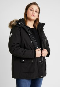 New Look Curves - SKI - Parkatakki - black - 0