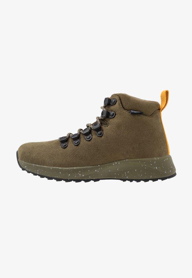 APEX  - Šněrovací kotníkové boty - utili green