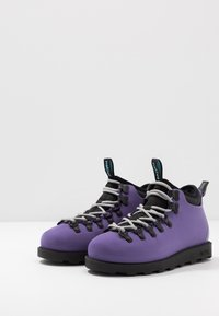 Native - FITZSIMMONS CITYLITE - Lace-up ankle boots - ultra violet/ jiffy black - 2