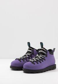 Native - FITZSIMMONS CITYLITE - Nauhalliset nilkkurit - ultra violet/ jiffy black - 2