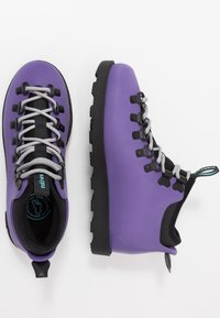 Native - FITZSIMMONS CITYLITE - Lace-up ankle boots - ultra violet/ jiffy black - 1