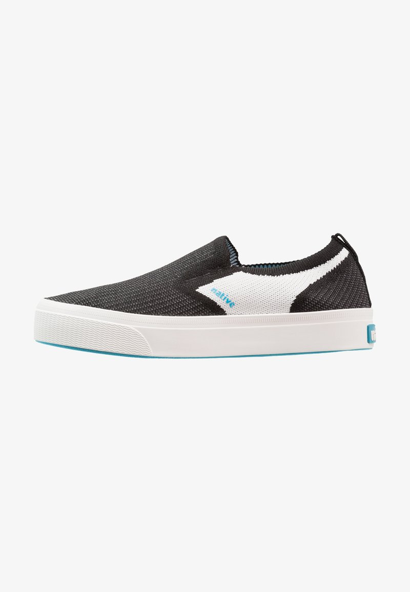 Native - MILES 2.0 LITEKNIT - Mocassins - jiffy black/shell white