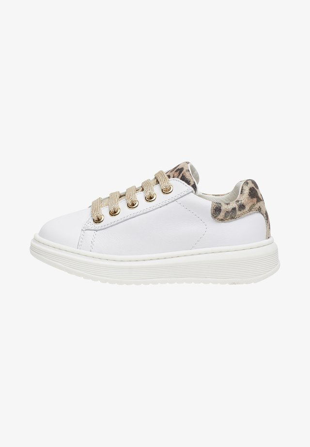 PORTER ZIP - Sneakers basse - white