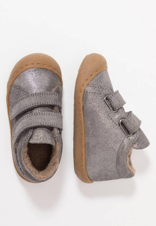 COCOON VL - Baby shoes - dunkel grau