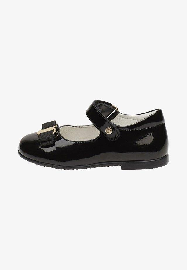 JETE - Ankle strap ballet pumps - black