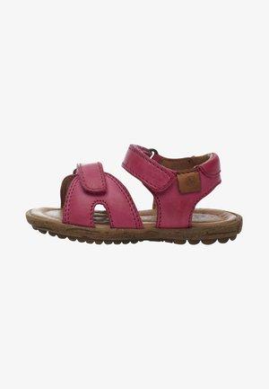 NATURINO SUN - Sandals - neon pink