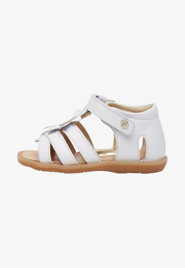 SANSA - Chaussures premiers pas - white
