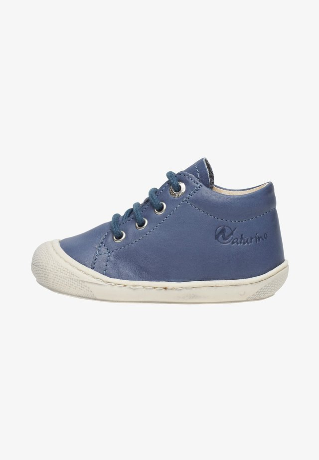 COCOON - Casual lace-ups - azure blue