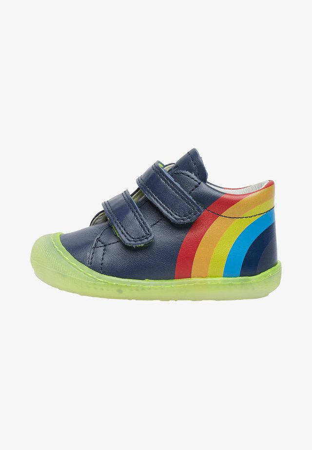 MATY VL CON STAMPA ARCOBALENO - Touch-strap shoes - blue