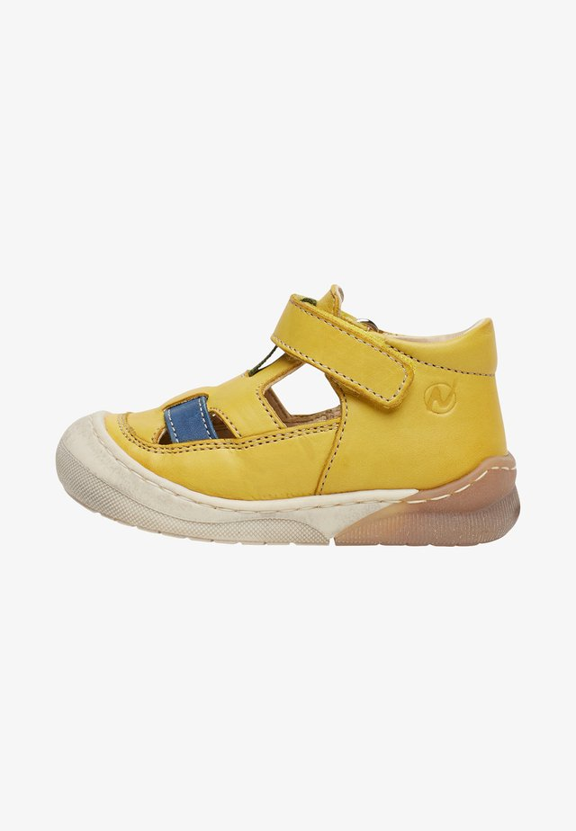 YOONGI - Touch-strap shoes - yellow