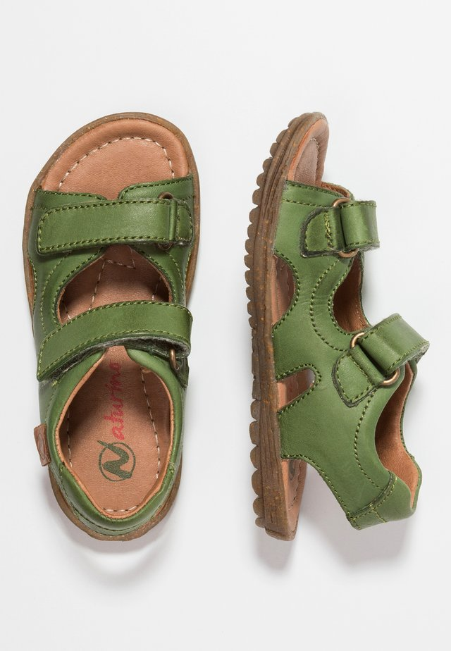 SKY - Baby shoes - militaergruen