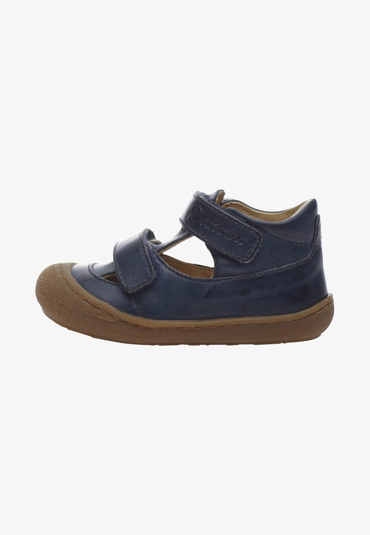 Naturino - PUFFY - Ankle strap ballet pumps - blue