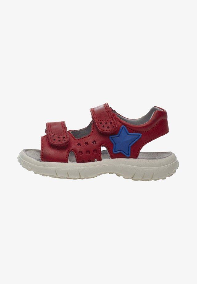 DOCK - Walking sandals - red