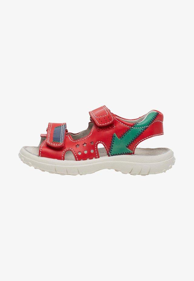 WHARF - Walking sandals - red