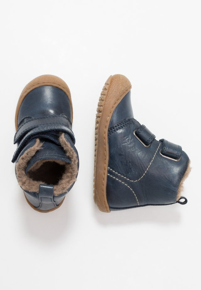 BUBBLE - Baby shoes - blau