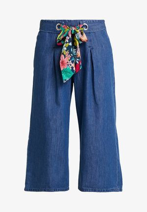 CHARLOTTA - Flared Jeans - blue denim