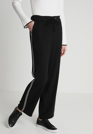 LARGE - Trousers - noir