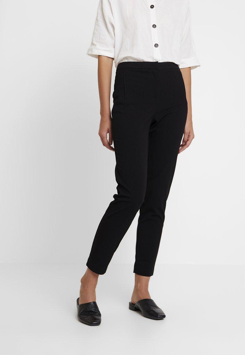 NAF NAF - EZAMIA - Trousers - noir