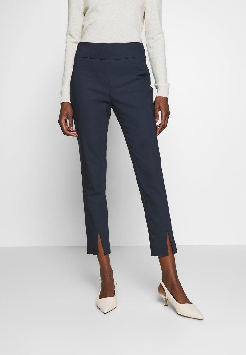 NAF NAF - EAVENUE - Pantalon classique - bleu marine