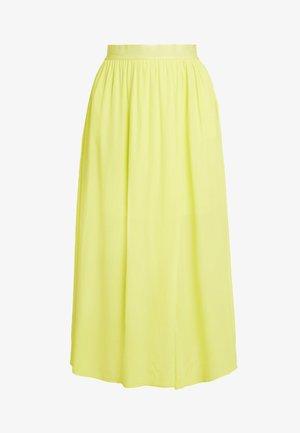 LEVE  - Maxi skirt - yellow lemon