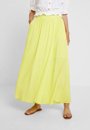 LEVE  - Falda larga - yellow lemon