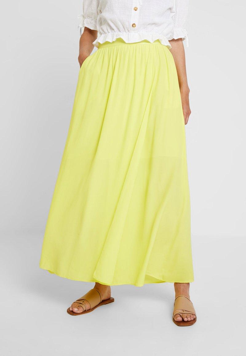 NAF NAF - LEVE  - Maxirok - yellow lemon