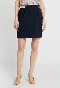NAF NAF - KATHYTU - Áčková sukně - blue marine - 0