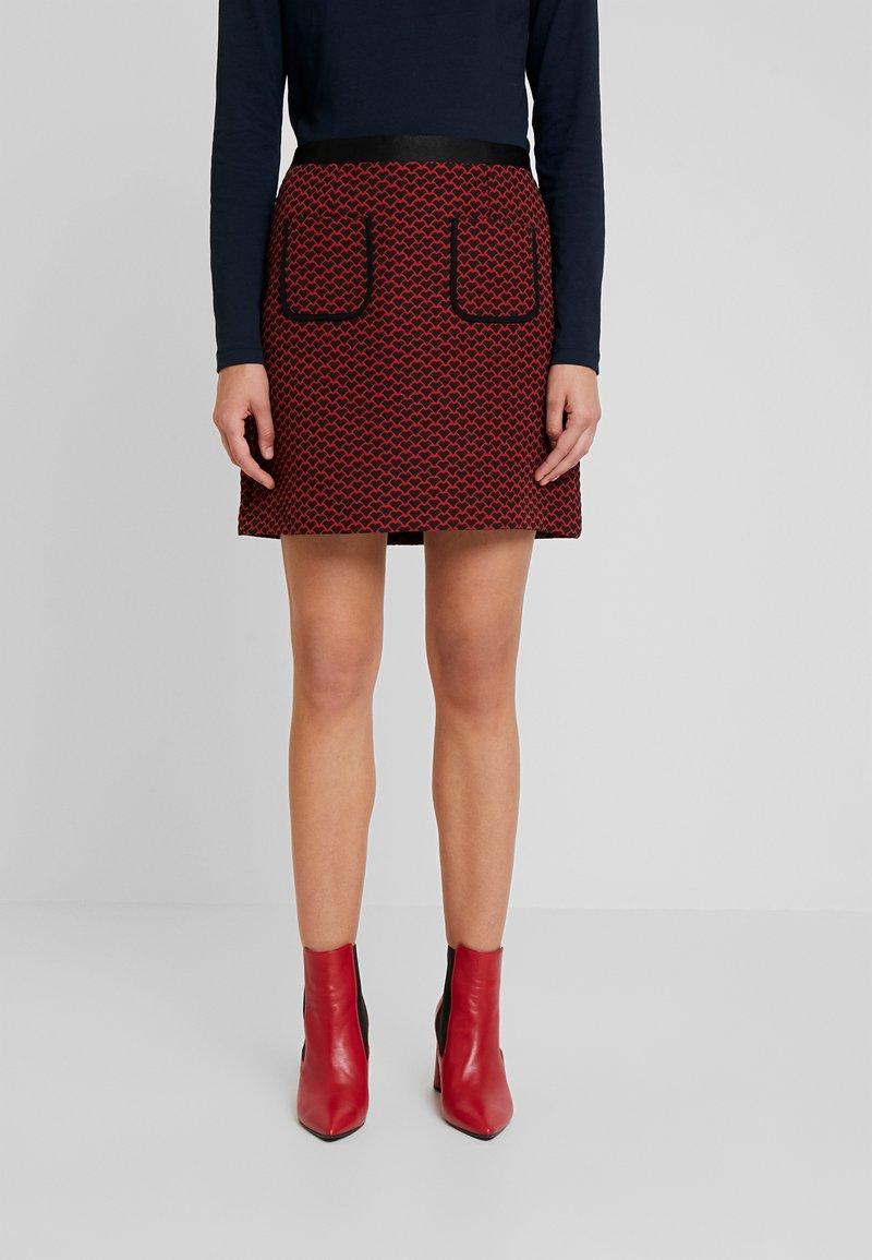 NAF NAF - ECOEUR - Mini skirt - fantaisie
