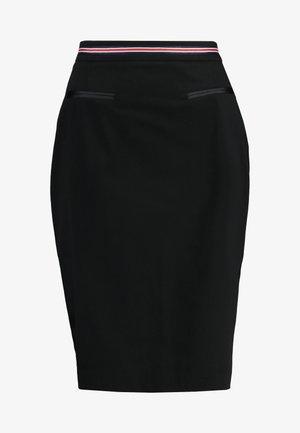 EDELIA - Pencil skirt - noir