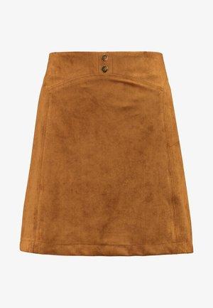 ESUE - A-line skirt - fauve
