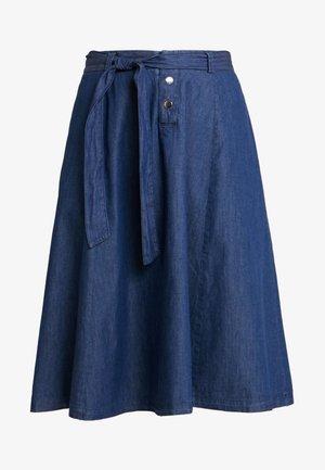 FALBALA - A-line skirt - blue denim