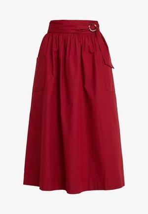 TOTEMA - Gonna a campana - rouge dorient