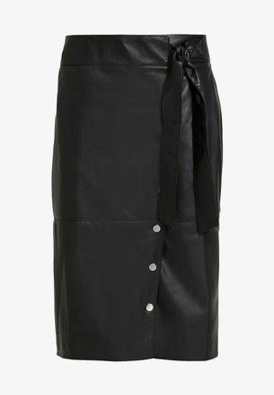 ANNA - Pencil skirt - noir