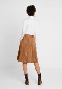 NAF NAF - ELOULOU - Áčková sukně - lama - 2