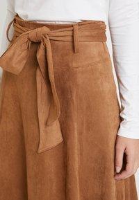 NAF NAF - ELOULOU - Áčková sukně - lama - 4