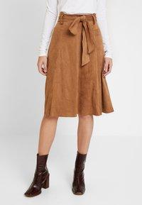 NAF NAF - ELOULOU - Áčková sukně - lama - 0
