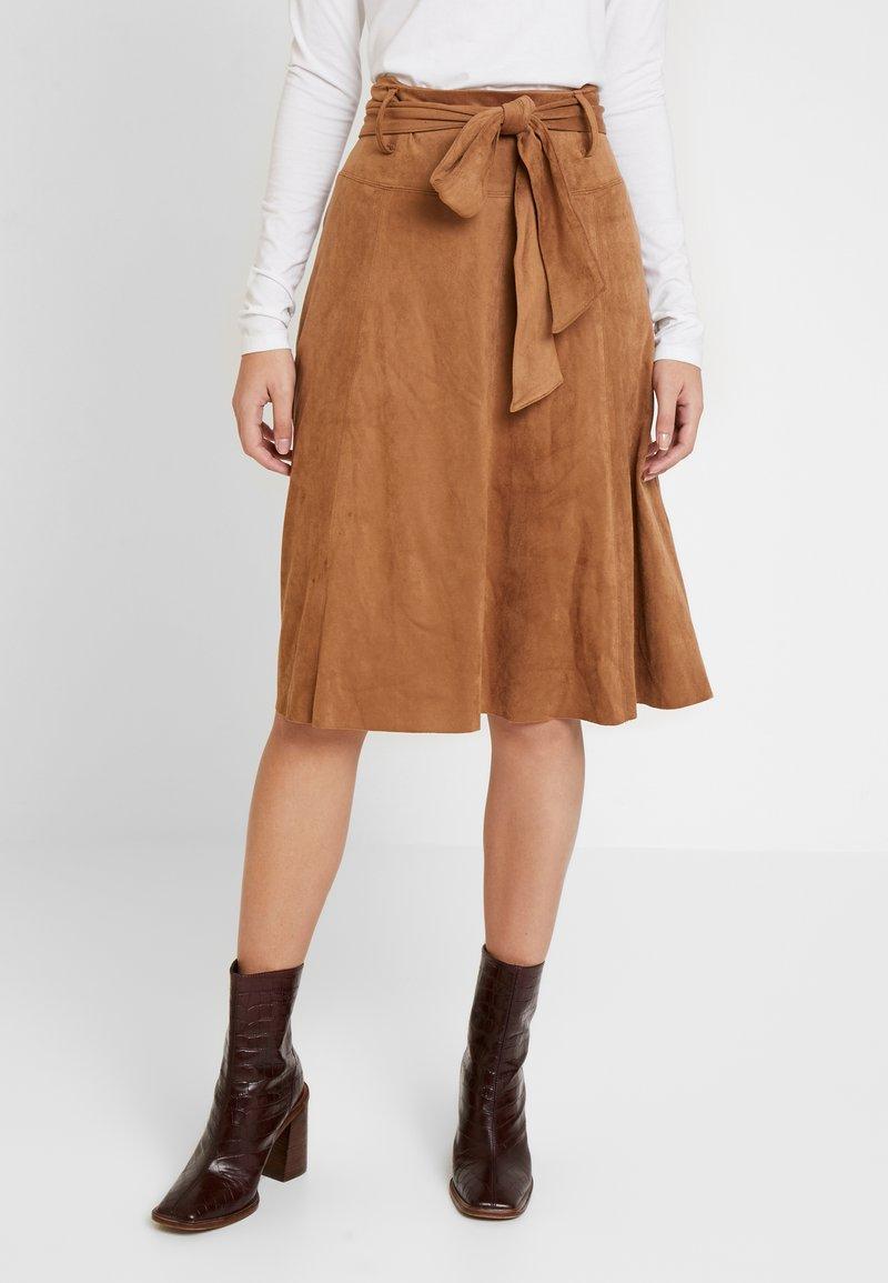 NAF NAF - ELOULOU - Áčková sukně - lama