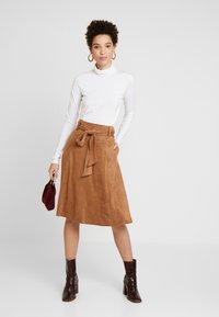 NAF NAF - ELOULOU - Áčková sukně - lama - 1