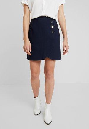 LAROUND - Mini skirt - bleu marine