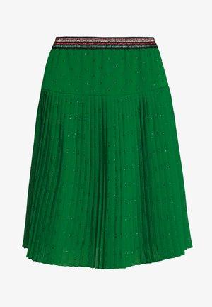 LAGUGU  - A-line skirt - chlorophylle