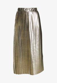 NAF NAF - PLATINA - A-lijn rok - golden - 3