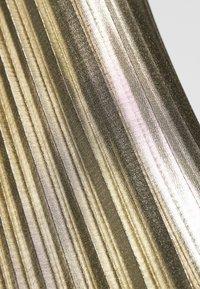 NAF NAF - PLATINA - A-lijn rok - golden - 4