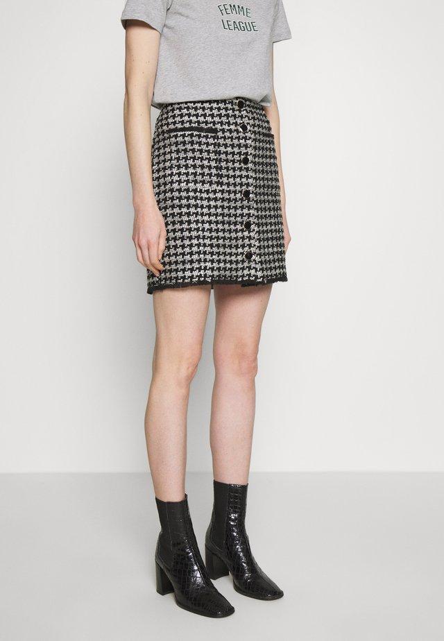 Mini skirt - carla noir/ecru
