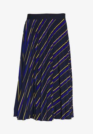 LASTREET - A-line skirt - dark blue