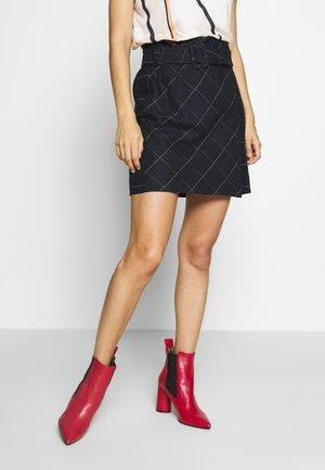 EMIMO - Mini skirt - bleu marine