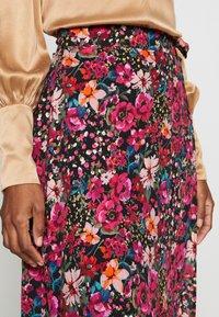 NAF NAF - PORTY NIGHT - A-line skirt - night/multicolor - 4