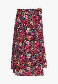 NAF NAF - PORTY NIGHT - A-line skirt - night/multicolor - 3